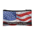 American Flag, Waving in Wind