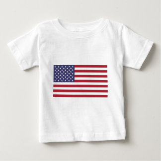 American flag, whole or detail view baby T-Shirt
