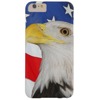 American Flag With American Bald Eagle Barely There iPhone 6 Plus Case