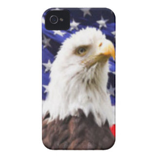 American Flag with Eagle iPhone 4 Cases