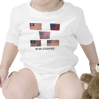 American Flag with War Stripes Tees