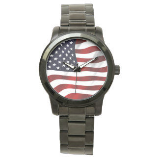 American Flag Wristwatches