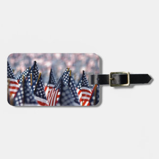 American Flags Luggage Tag