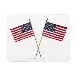 American flags magnet