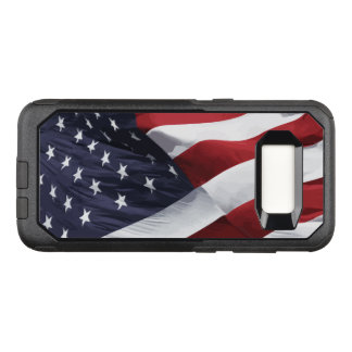 American FlagStars And Stripes OtterBox Commuter Samsung Galaxy S8 Case