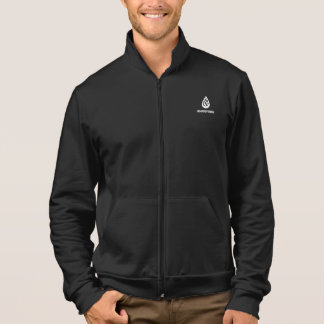 American fleece zip jogger jacket