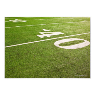 "American Football 5 5"" X 7"" Invitation Card"