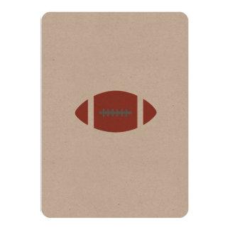 "American Football 5"" X 7"" Invitation Card"