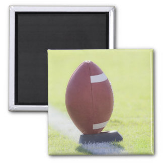 American Football 6 Square Magnet
