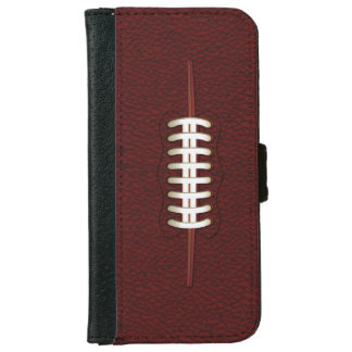 American Football Ball iPhone 6 Wallet Case