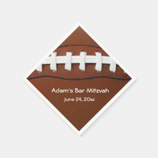 American Football Design Paper Napkins