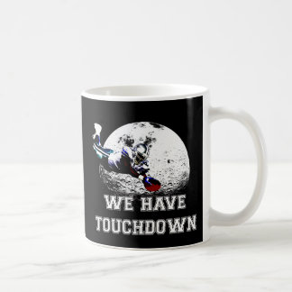 "American football dive ""We have touchdown"", Coffee Mug"