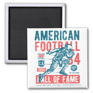 American Football Hall Of Fame Magnet