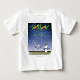 american football happy holiday baby T-Shirt