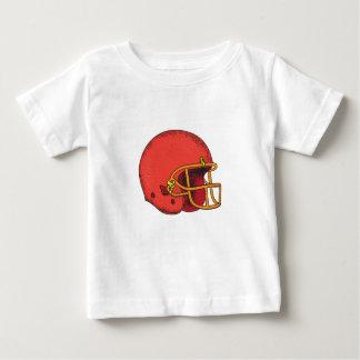 American Football Helmet  Tattoo Baby T-Shirt