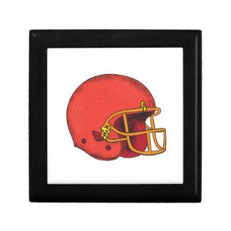 American Football Helmet  Tattoo Gift Box