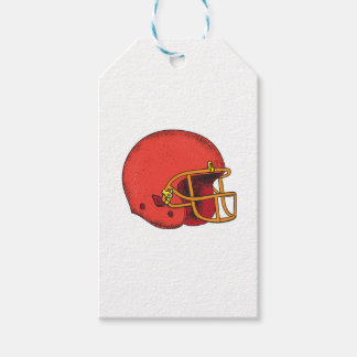 American Football Helmet  Tattoo Gift Tags