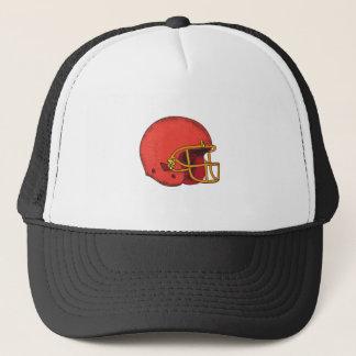 American Football Helmet  Tattoo Trucker Hat