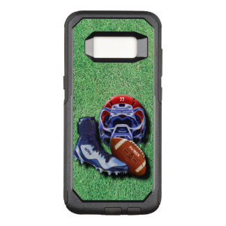 American Football Or Rugby Helmet Ball Shoe Named OtterBox Commuter Samsung Galaxy S8 Case