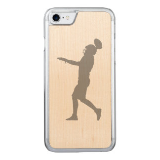 American football player carved iPhone 8/7 case