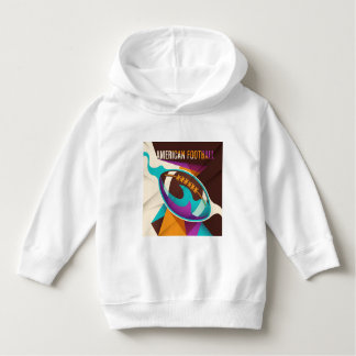 American Football Sport Ball Abstract Hoodie