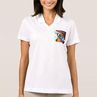 American Football Sport Ball Abstract Polo T-shirts