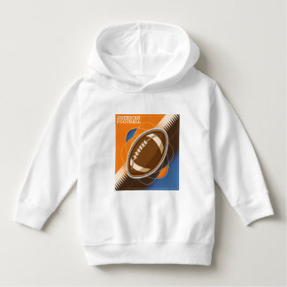 American Football Sport Ball Game Hoodie