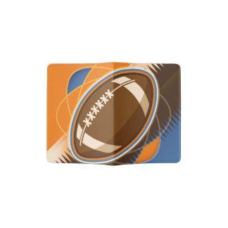 American Football Sport Ball Game Passport Holder