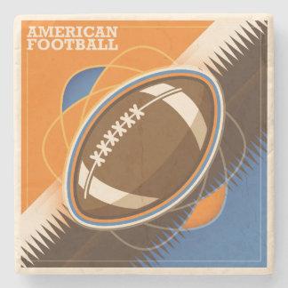 American Football Sport Ball Game Stone Coaster