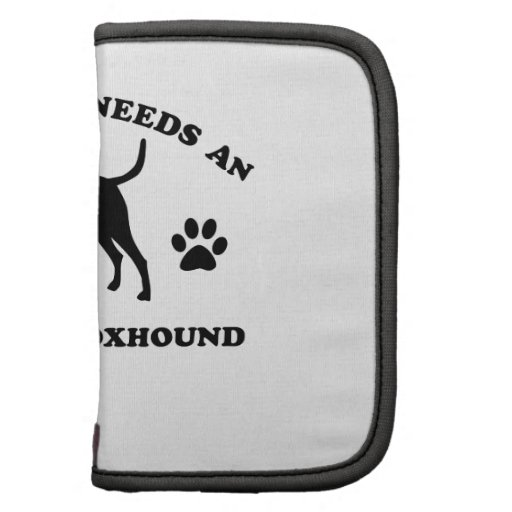 American Fox Hound dog breed Folio Planner