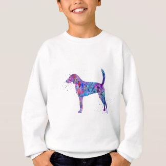 American foxhound, American foxhound watercolor Sweatshirt