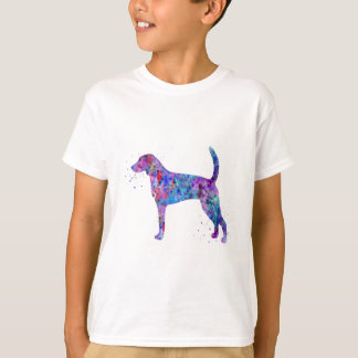 American foxhound, American foxhound watercolor T-Shirt