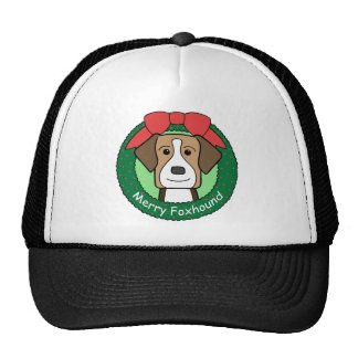 American Foxhound Christmas Trucker Hat