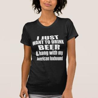 American foxhound Dog Designs T-Shirt