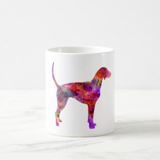 American Foxhound in watercolor 2 Coffee Mug