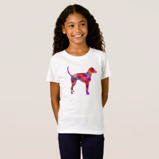 American Foxhound in watercolor 2 T-Shirt