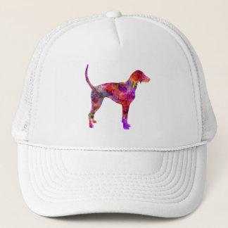 American Foxhound in watercolor 2 Trucker Hat
