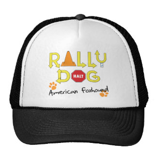 American Foxhound Rally Dog Trucker Hat