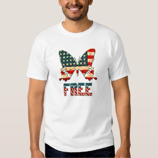 American Freedom Butterfly Shirts