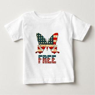 American Freedom Butterfly Tshirt