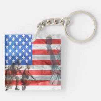 American Freedom Keychain