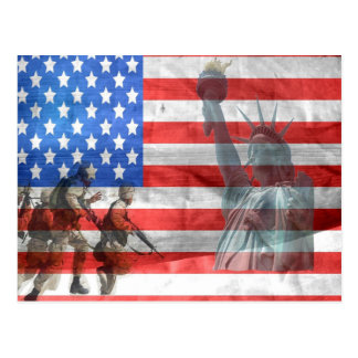 American Freedom Postcard