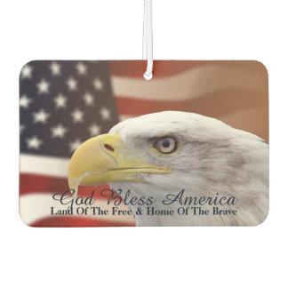 "American Freedom Symbols Air Freshner"" Air Freshener"