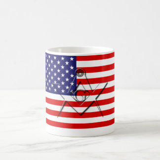 American Freemason Coffee Mug