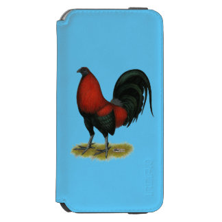 American Game BB Black Red Rooster Incipio Watson™ iPhone 6 Wallet Case