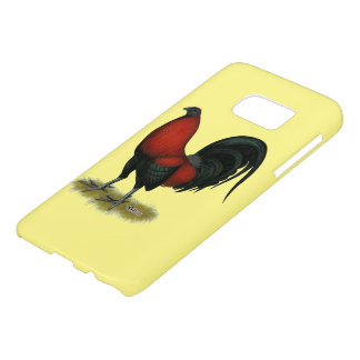 American Game BB Black Red Rooster Samsung Galaxy S7 Case
