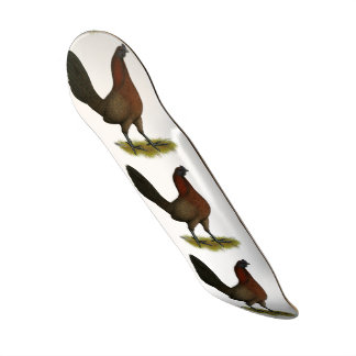 American Game Black Red Hen Skate Decks