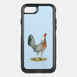 American Game Hen Silver Blue OtterBox Commuter iPhone 8/7 Case
