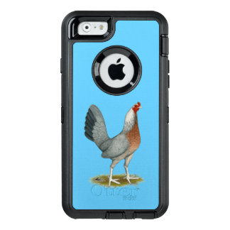 American Game Hen Silver Blue OtterBox Defender iPhone Case