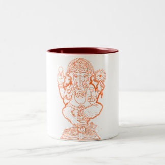 American Ganesh Two-Tone Coffee Mug